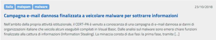 spam italia